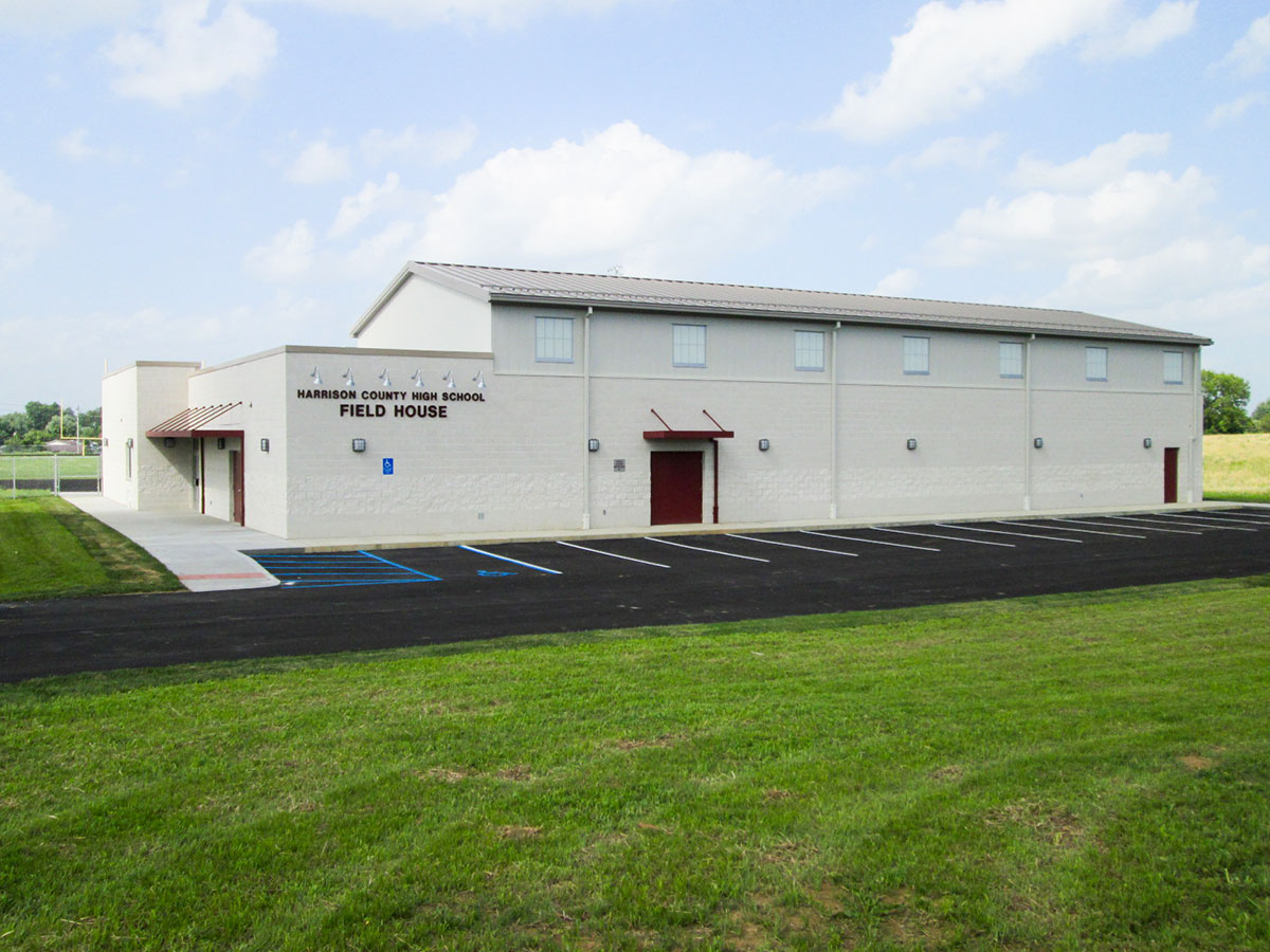 Harrison County High School Renovations Amp Field House