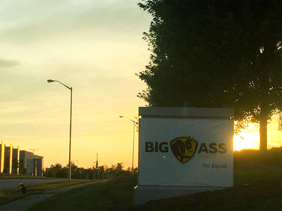 Big Ass Solutions Parking Lot Marrillia Design