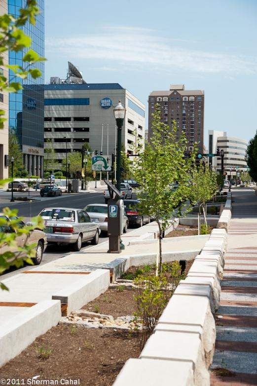 Streetscape To The North Of Hickory Click To Close: Marrillia Design & Construction