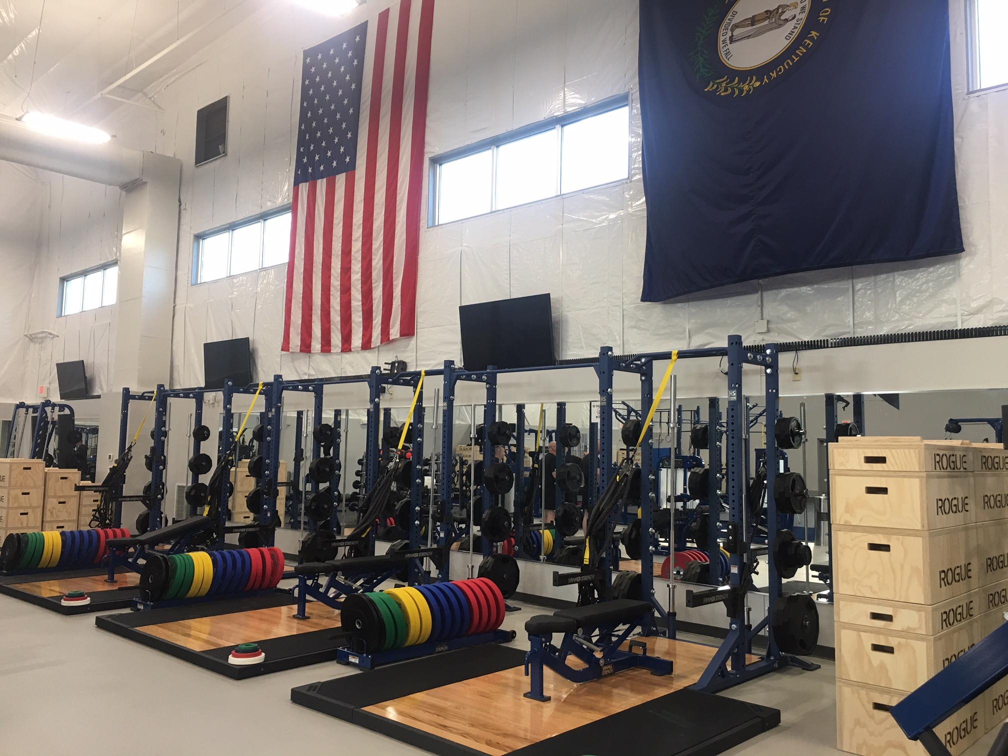 Boone National Guard Fitness Center Marrillia Design